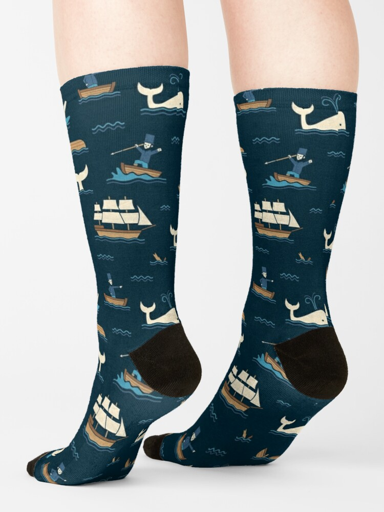 Alternate view of The White Whale  Socks