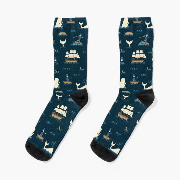 The White Whale  Socks