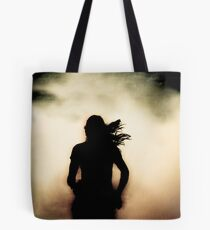 Running Shadow  Tote Bag