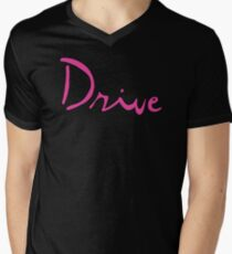 Drive Inspired Shirt Mens V-Neck T-Shirt