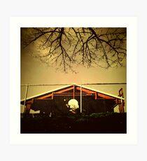 Buckman Hoops Art Print