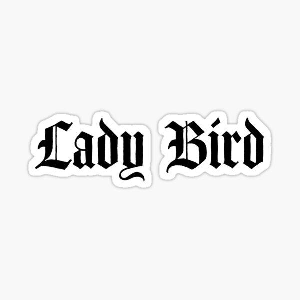 Lady Bird Logo Sticker