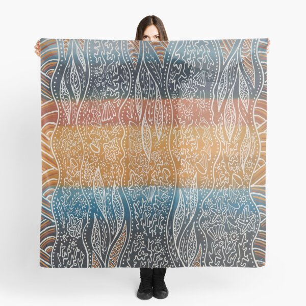 Rainforest Meets The Reef Scarf