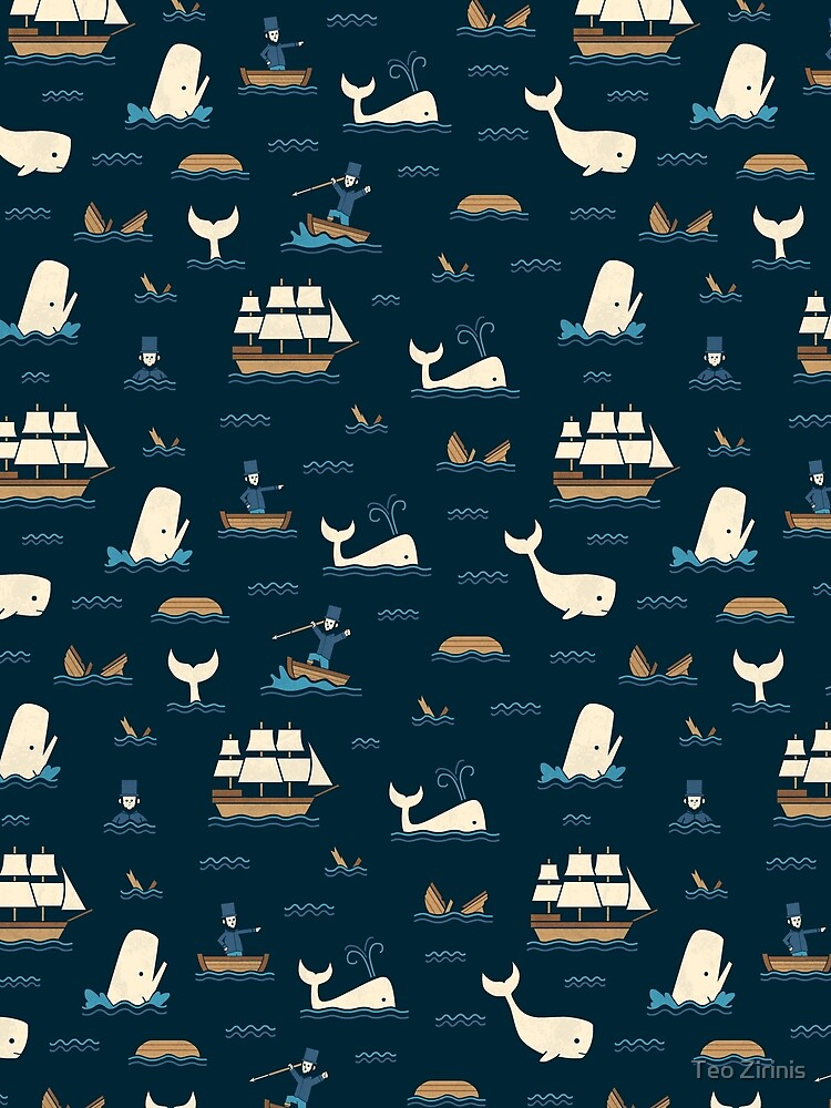 The White Whale  by theodorezirinis