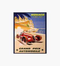 MONACO; Grand-Prix-Auto-Rennsport-Druck der Weinlese 1937 Galeriedruck