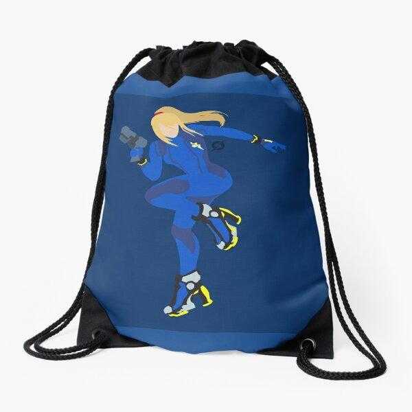 Zero Suit Samus (Dark Blue) - Super Smash Bros. Drawstring Bag
