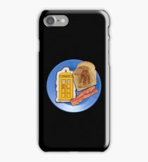 Whovian Breakfast iPhone Case/Skin