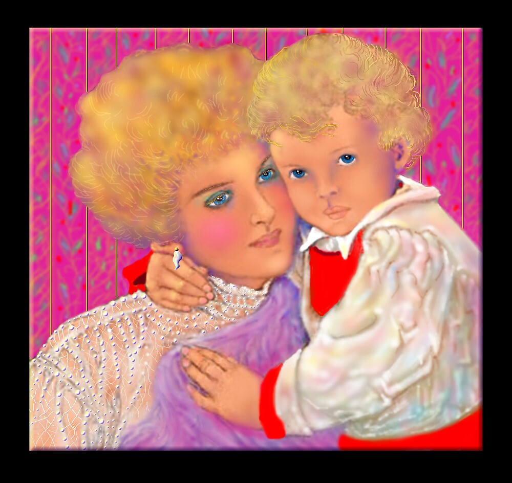 'A Mother's Love', Mother and Child #3 by luvapples downunder/ Norval Arbogast