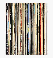 Vinyl Record Collector   Photographic Print