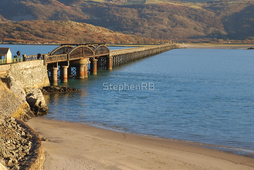 Mawddach Estuary Bridge No1 by StephenRB