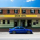 Drinkin' Tinnies at the Grand Hotel by Daniel Peut