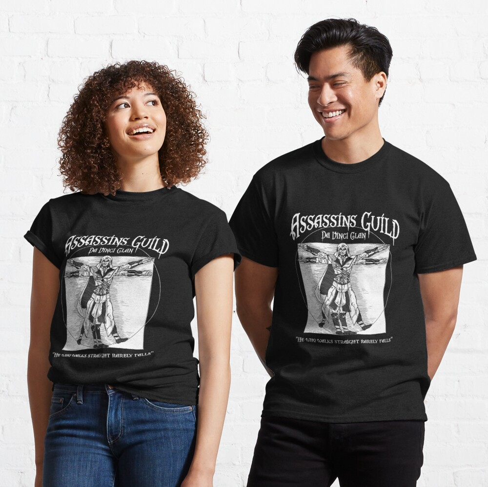 Assassins Guild - Da Vinci Clan Classic T-Shirt