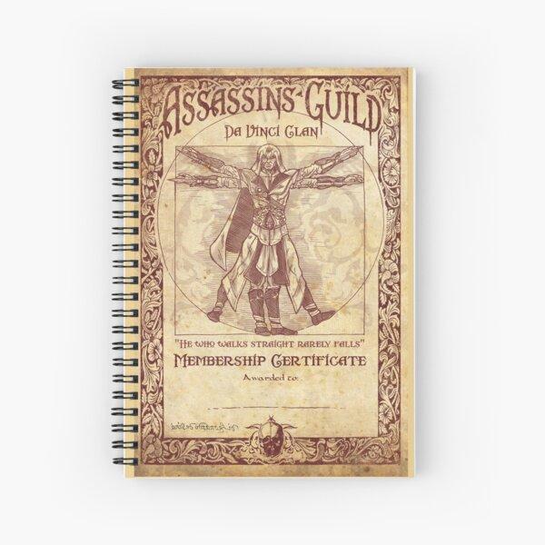 Assassins Guild - Da Vinci Clan Spiral Notebook
