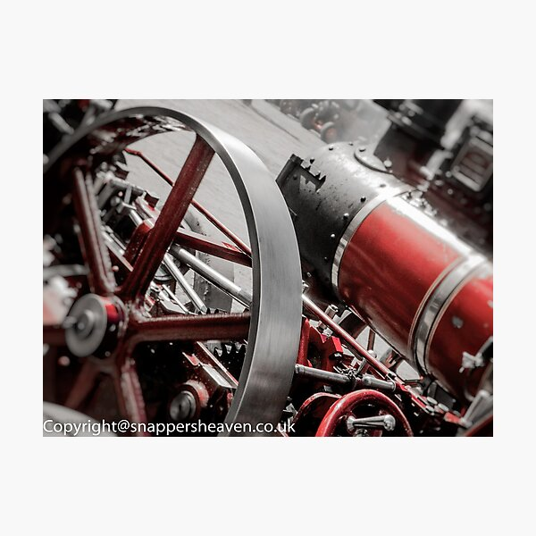 steamangles  Photographic Print