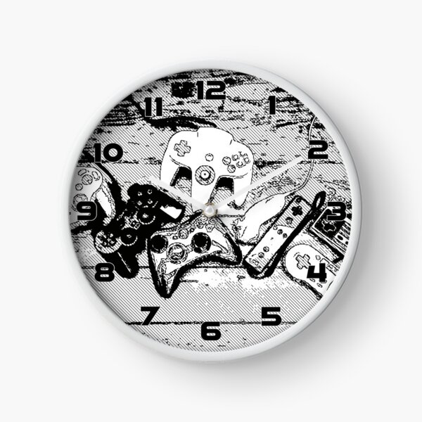Collection de manettes - Joysticks collection Clock