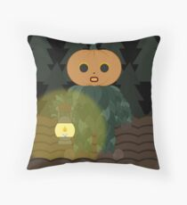 The Pumpkin Man Floor Pillow