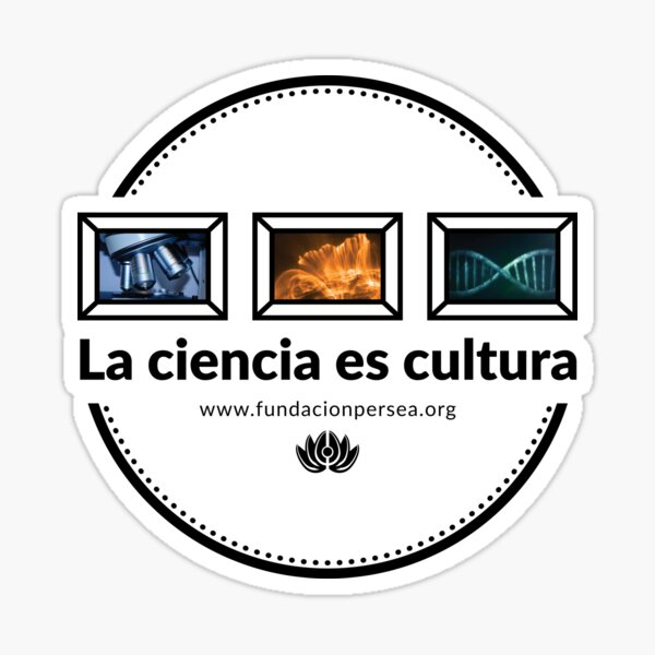 Science is culture gallery II Sticker