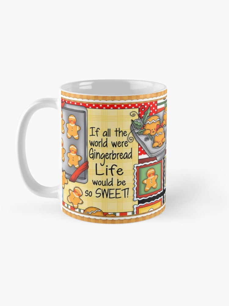 Alternate view of Holiday Gingerbread and Spice Mug