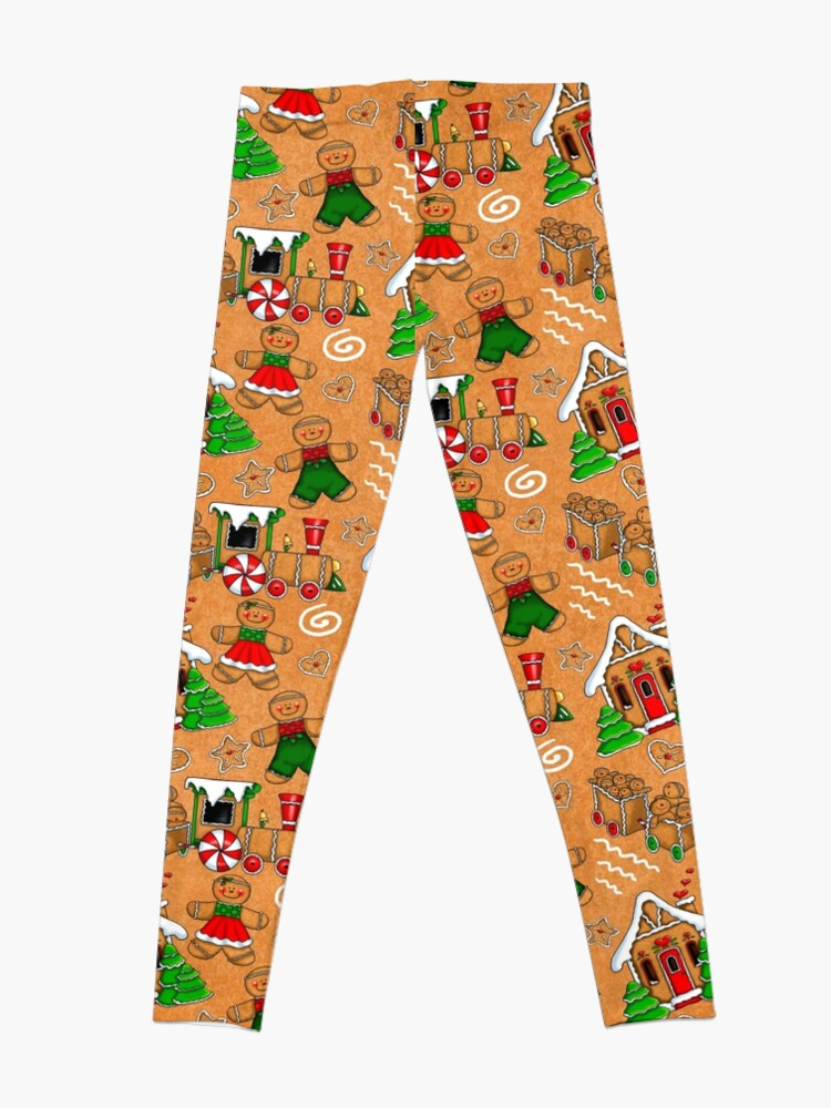 Alternate view of Holiday Gingerbread and Spice Leggings