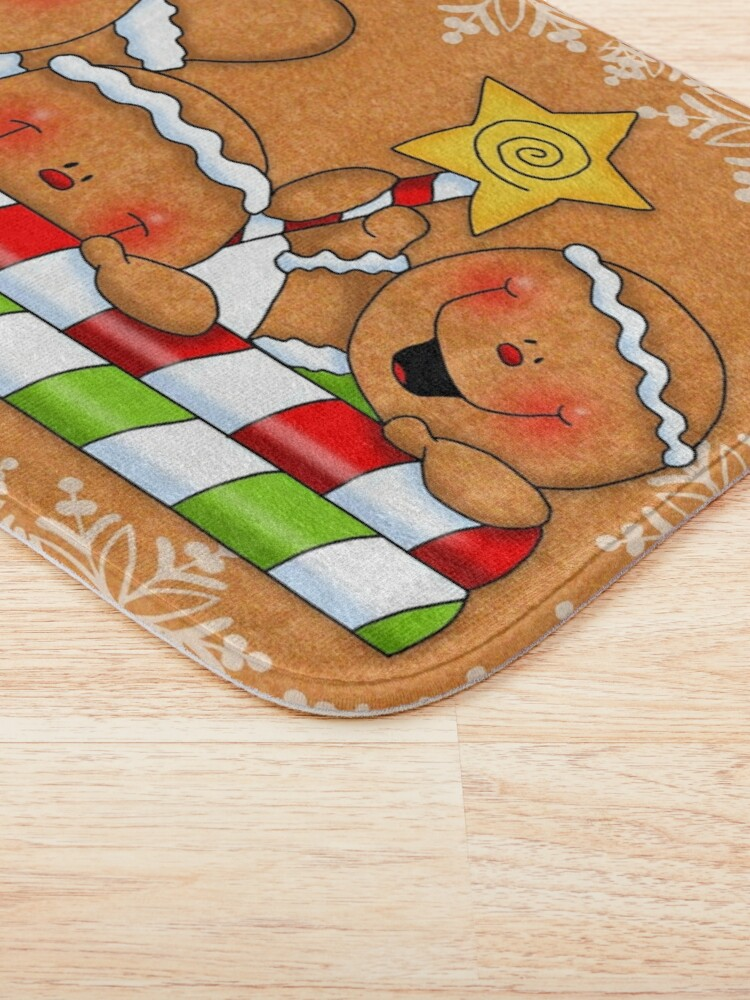 Alternate view of Holiday Gingerbread and Spice Bath Mat