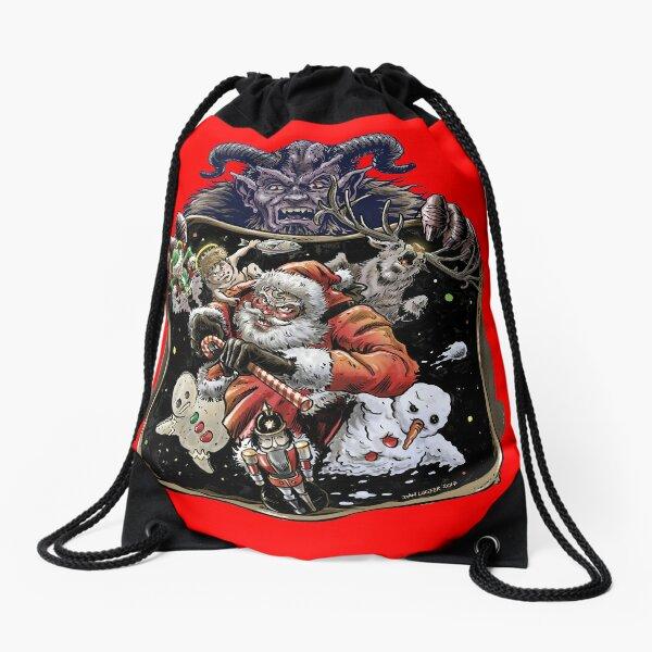 Copy of Xmas League Age of Krampus Drawstring Bag