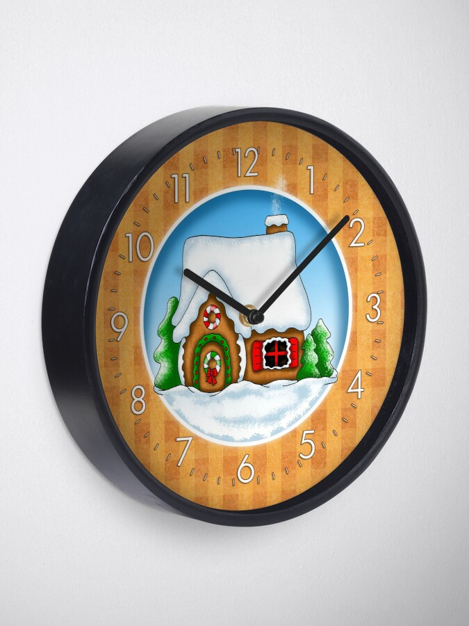 Alternate view of Holiday Gingerbread and Spice Clock