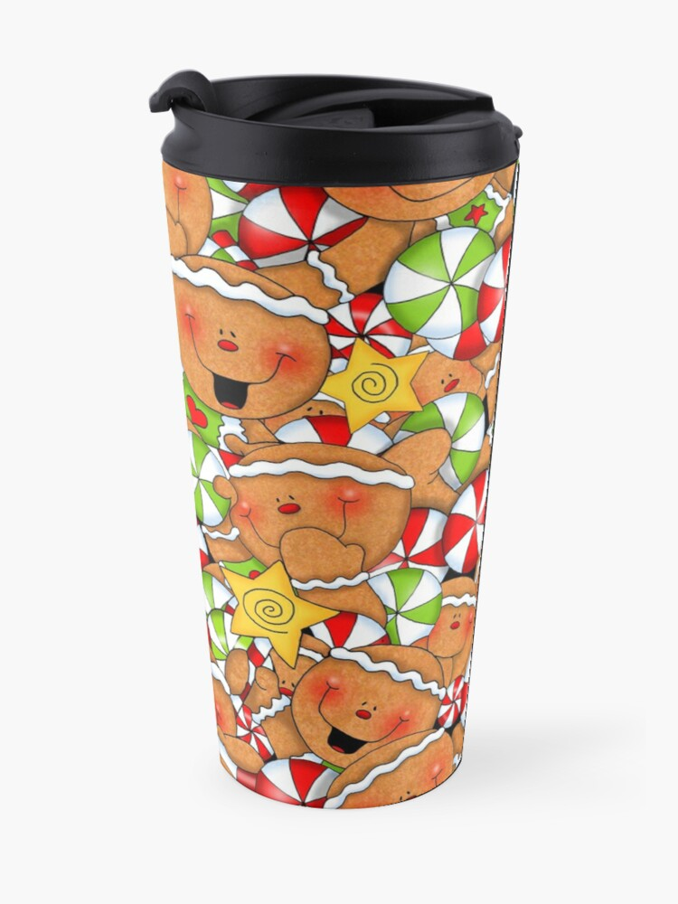 Alternate view of Holiday Gingerbread and Spice Travel Mug