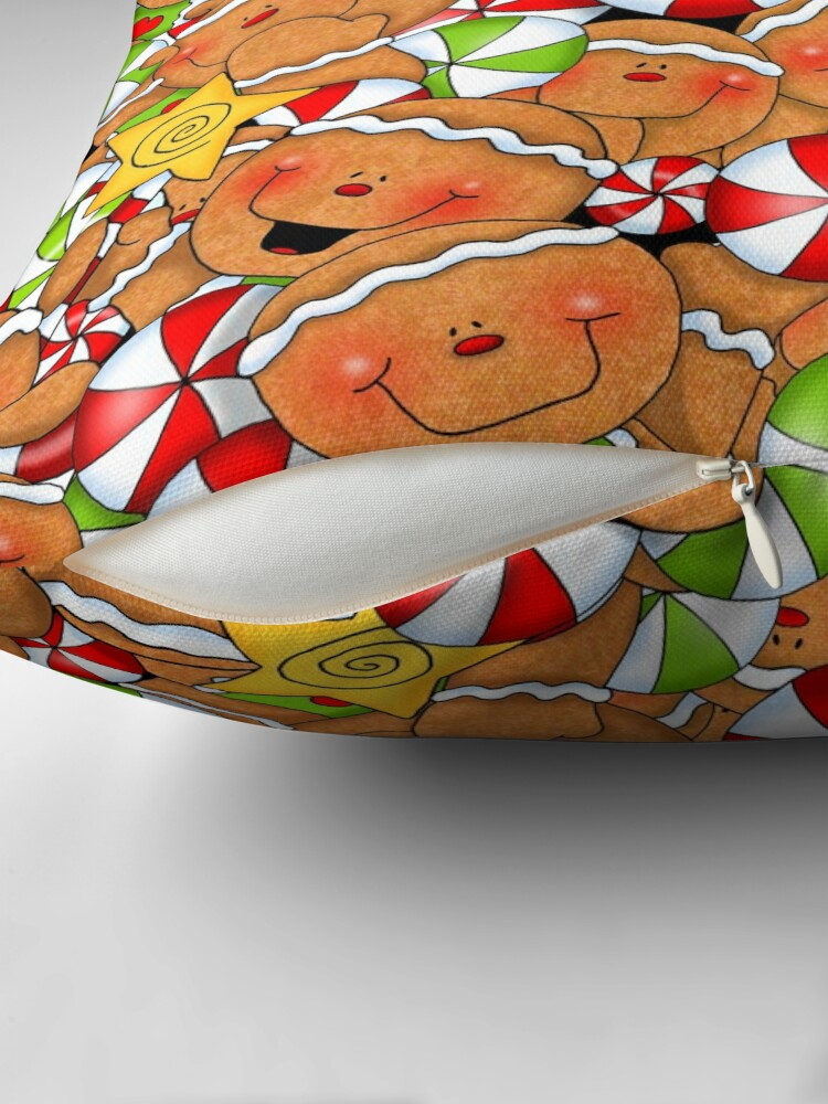 Alternate view of Holiday Gingerbread and Spice Floor Pillow