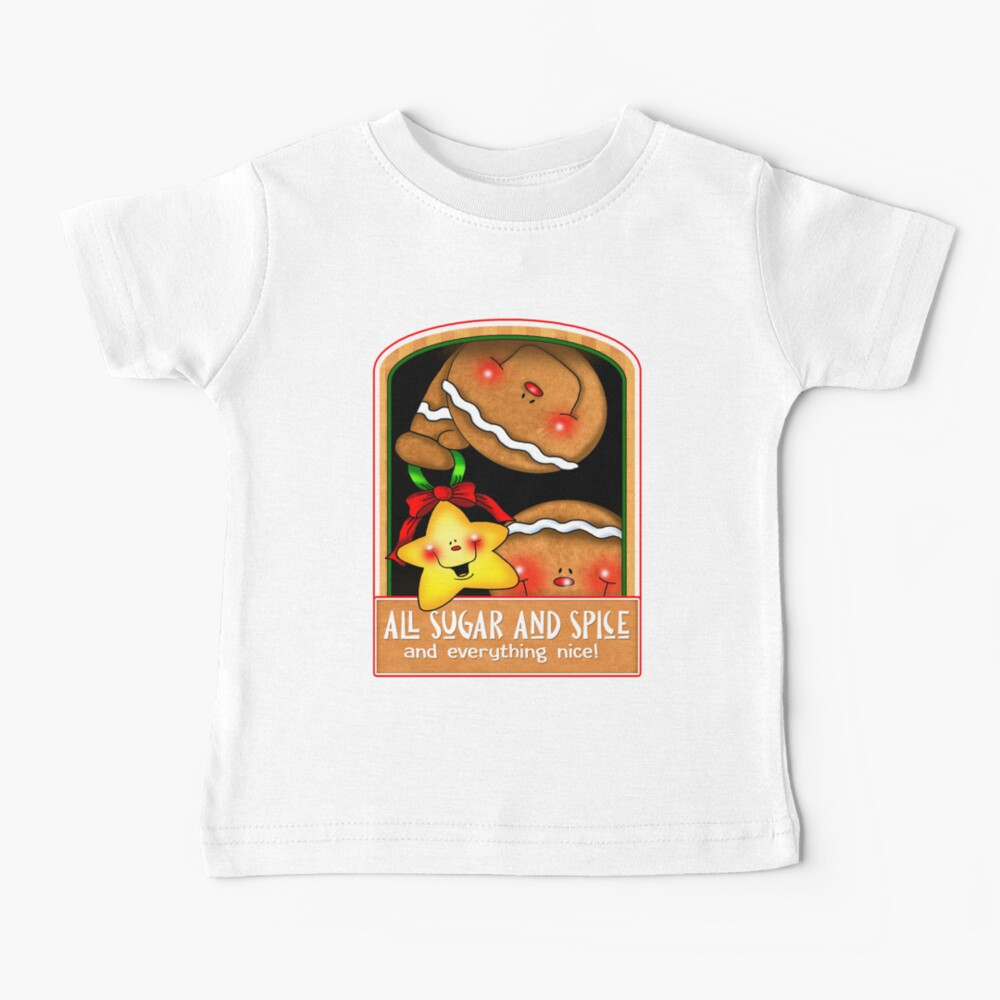 Holiday Gingerbread and Spice Baby T-Shirt
