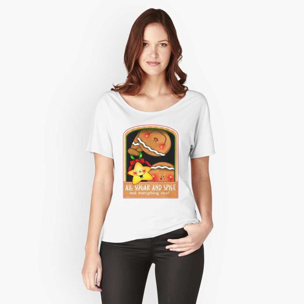 Holiday Gingerbread and Spice Relaxed Fit T-Shirt