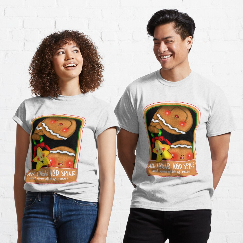 Holiday Gingerbread and Spice Classic T-Shirt