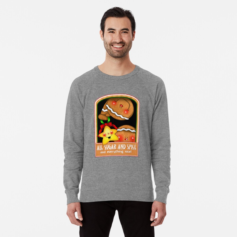 Holiday Gingerbread and Spice Lightweight Sweatshirt