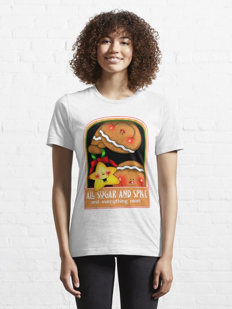 Alternate view of Holiday Gingerbread and Spice Essential T-Shirt