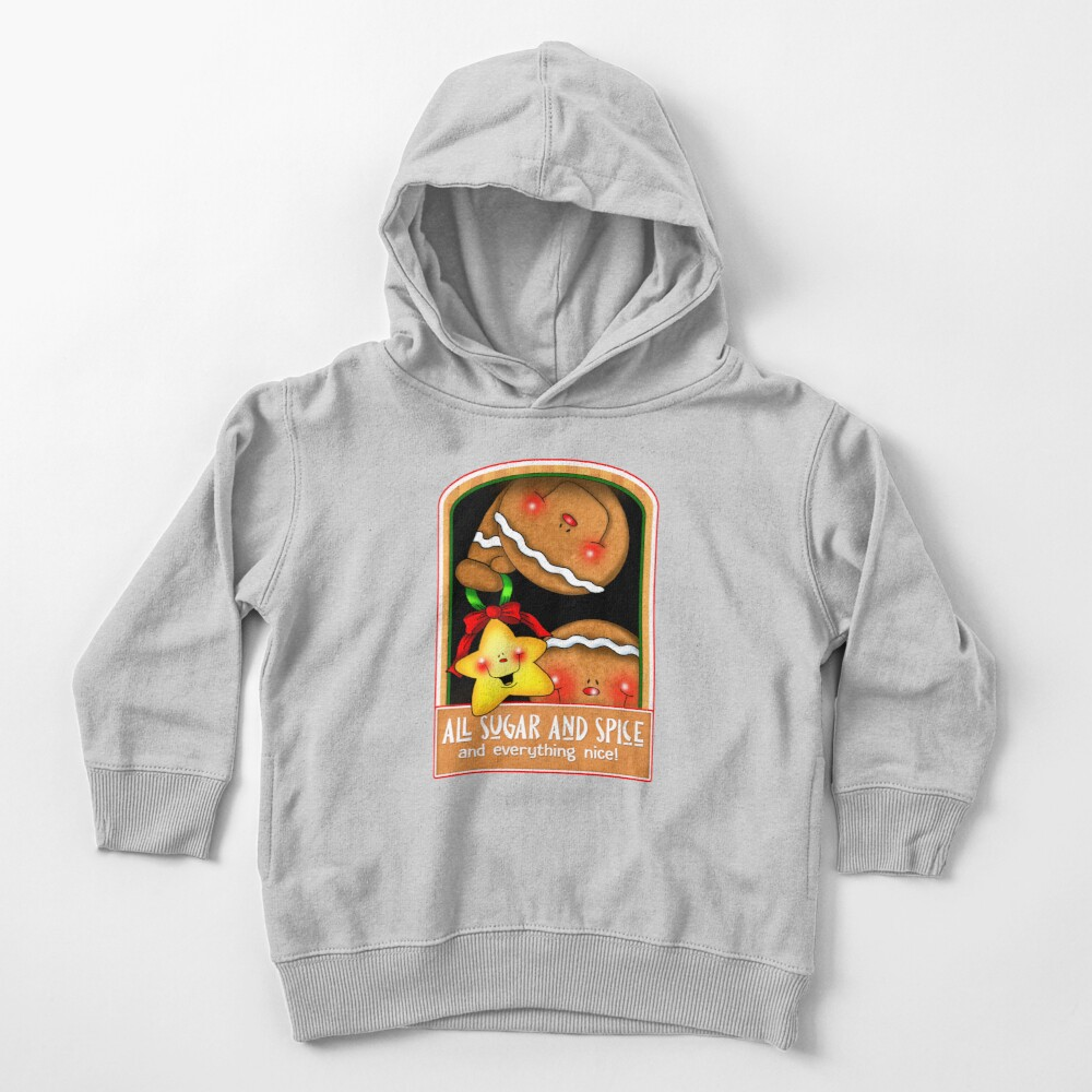 Holiday Gingerbread and Spice Toddler Pullover Hoodie