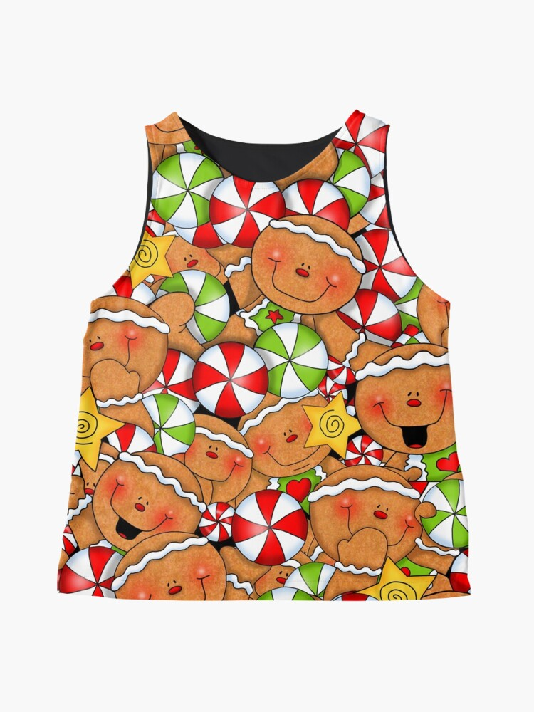 Alternate view of Holiday Gingerbread and Spice Sleeveless Top