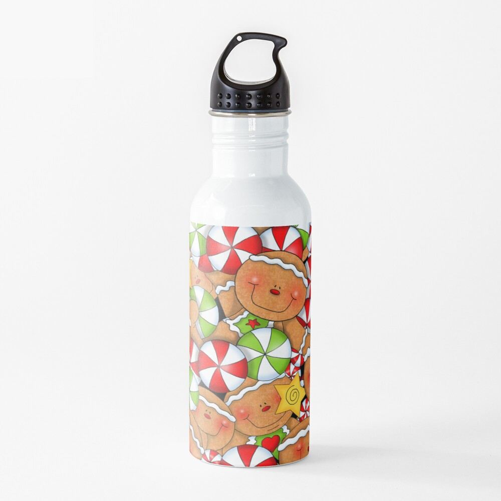 Holiday Gingerbread and Spice Water Bottle