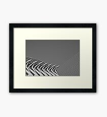 Shapes and patterns. Framed Print