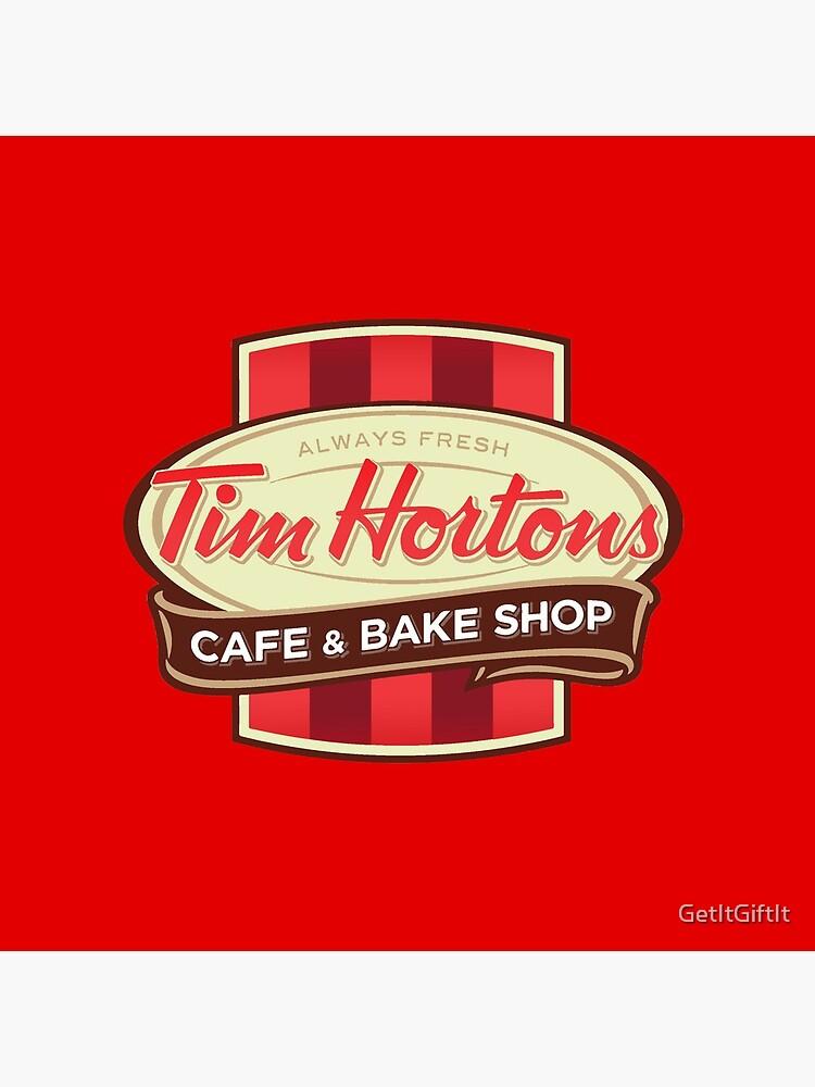 Tim Hortons Canadian Coffee Chain design by GetItGiftIt
