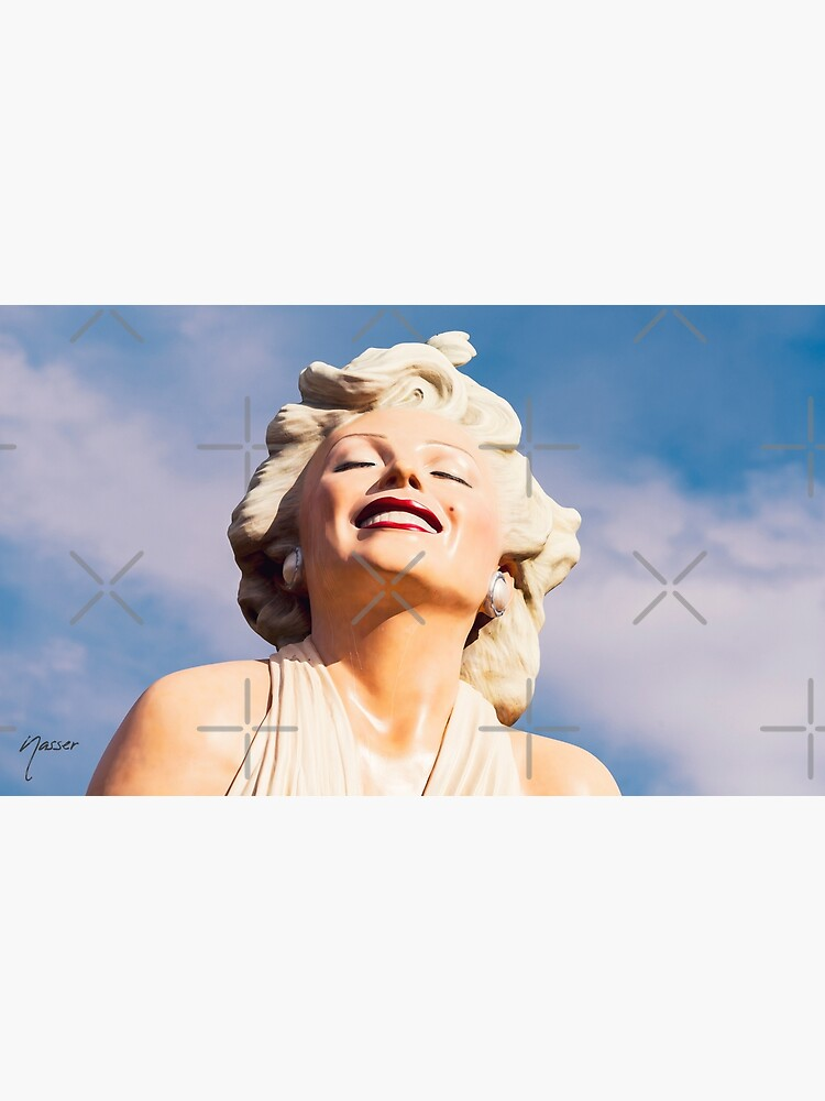 0243 LOVE Forever Marilyn Monroe Statue Palm Springs by neptuneimages