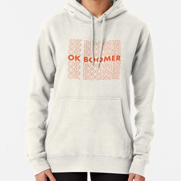 Ok Boomer Tee Pullover Hoodie
