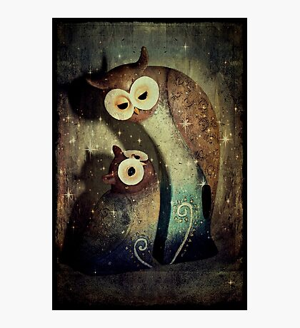 Night Owls Photographic Print