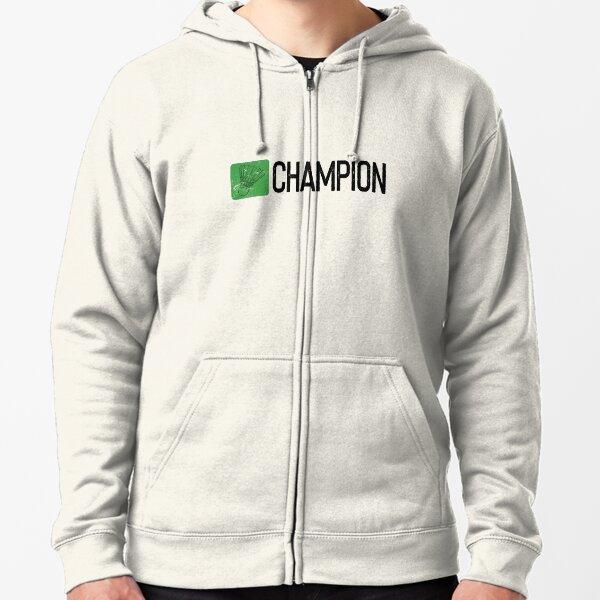 Badminton Champion Zipped Hoodie