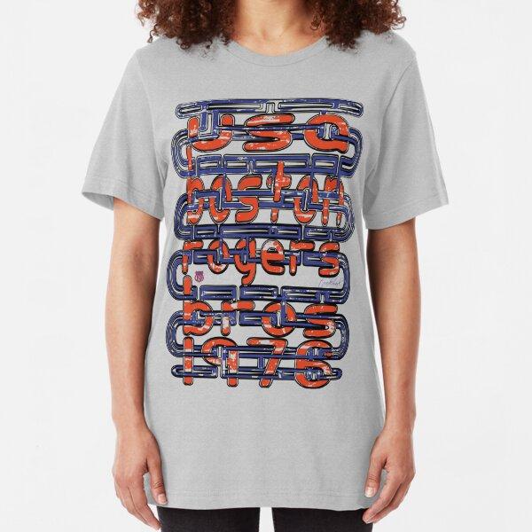 usa boston, ma tshirt by rogers bros Slim Fit T-Shirt