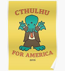 Cthulhu for America 2016 Poster