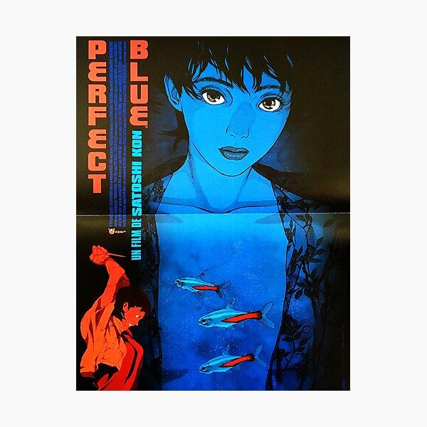 Poster bleu parfait Impression photo