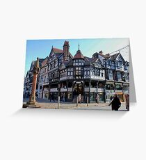 Chester Cross, Chester, Cheshire, UK Greeting Card