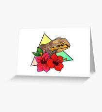 Magical Bearded Dragon Greeting Card