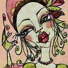 MISS PINK by Barbara Cannon  ART.. AKA Barbieville