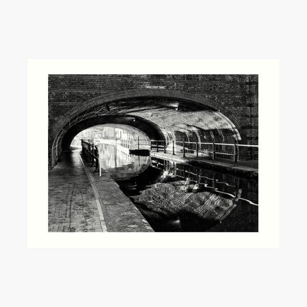 Broad Street Tunnel Art Print