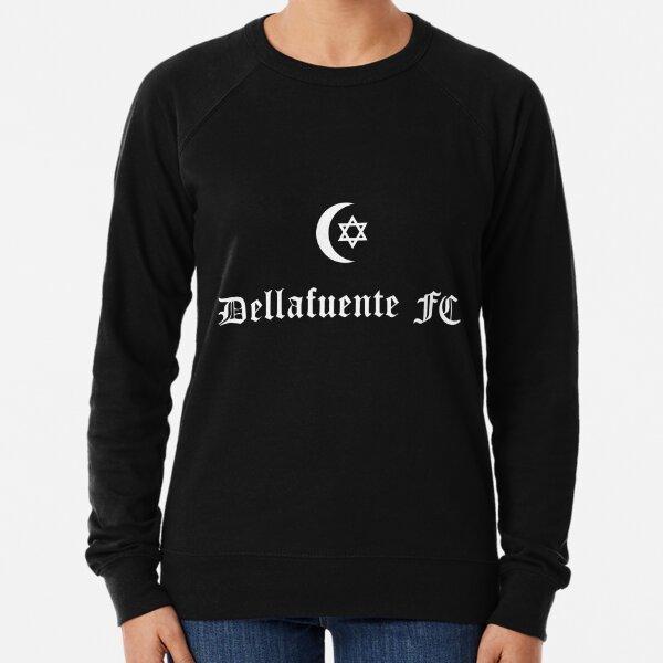 Dellafuente ☪ FC Logo White Lightweight Sweatshirt